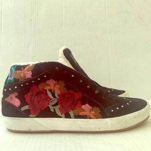 Zara's Butterfly Flower Sneakers